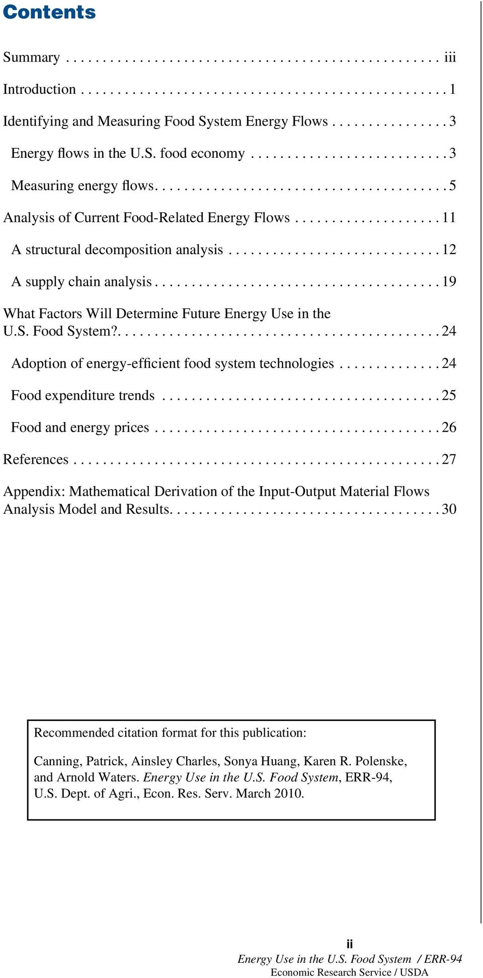 ....24 Adoption of energy-efficient food system technologies...24 Food expenditure trends...25 Food and energy prices...26 References.