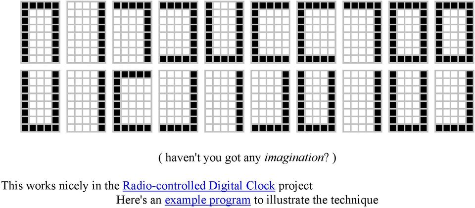 Radio-controlled Digital Clock project
