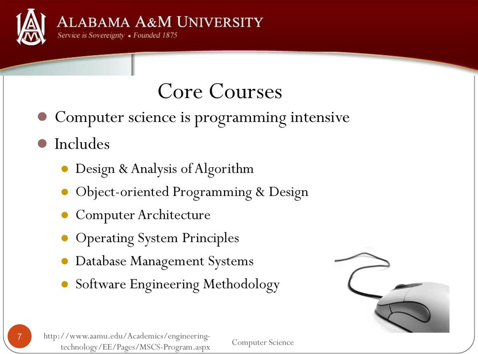 Programming & Design Computer Architecture Operating System