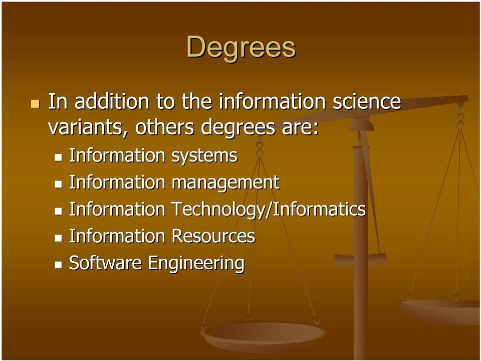 Information management Information