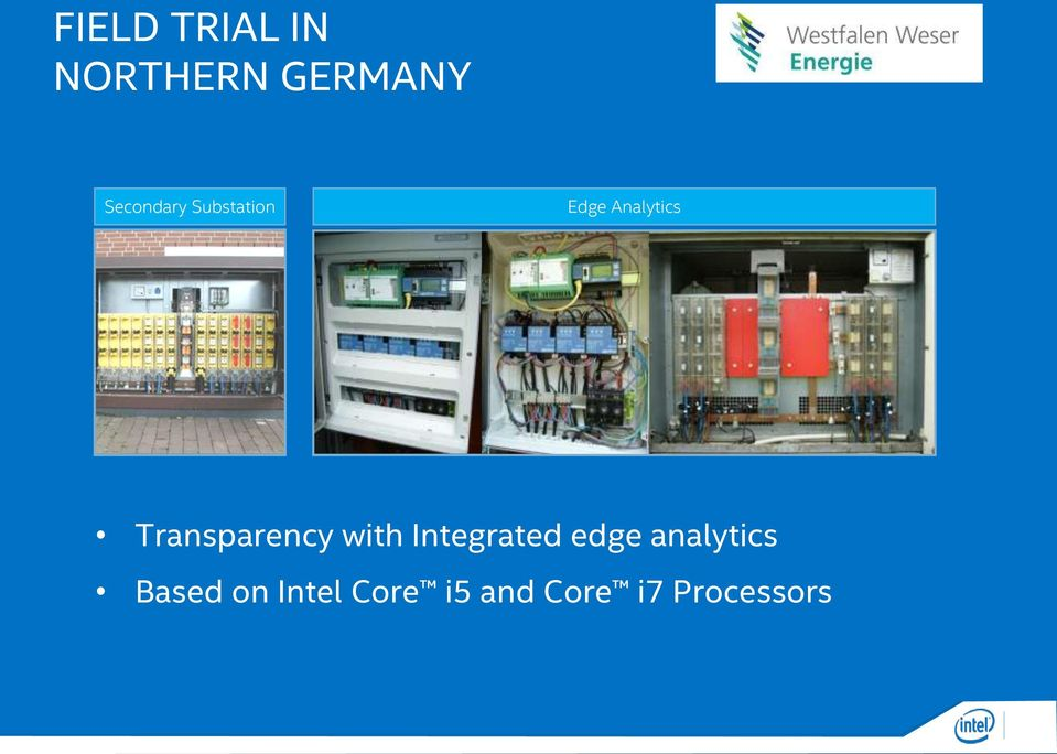Transparency with Integrated edge