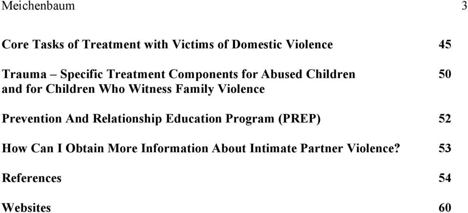 Family Violence Prevention And Relationship Education Program (PREP) 52 How Can I