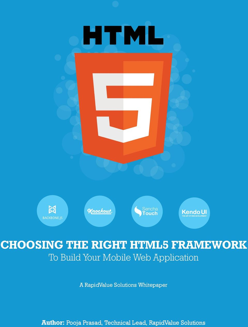FRAMEWORK To Build Your Mobile Web Application