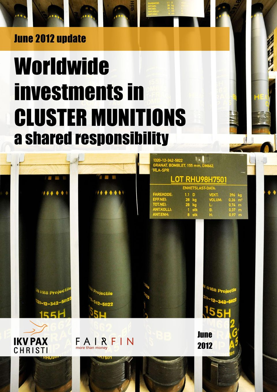 in CLUSTER MUNITIONS a