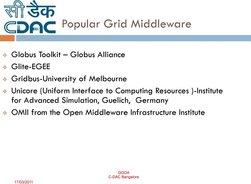 Interface to Computing Resources )-Institute for Advanced