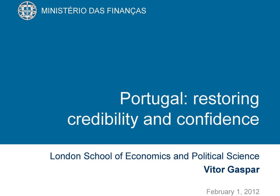 Economics and Political Science Vitor