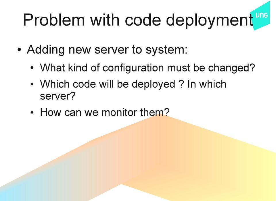 configuration must be changed?