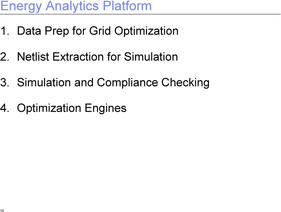 Netlist Extraction for Simulation 3.