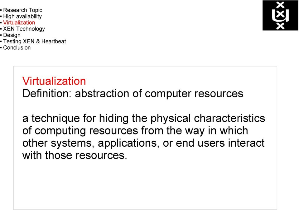 computing resources from the way in which other