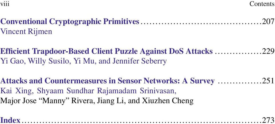 ..229 Yi Gao, Willy Susilo, Yi Mu, and Jennifer Seberry Attacks and Countermeasures in
