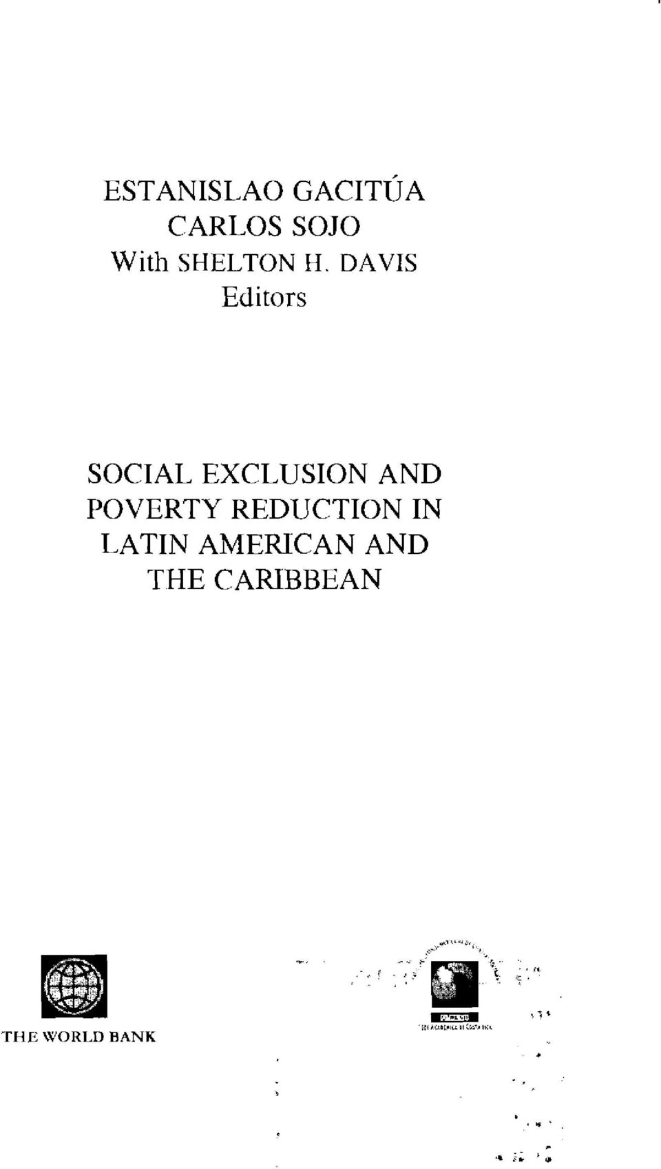 DAVIS Editors SOCIAL EXCLUSION AND