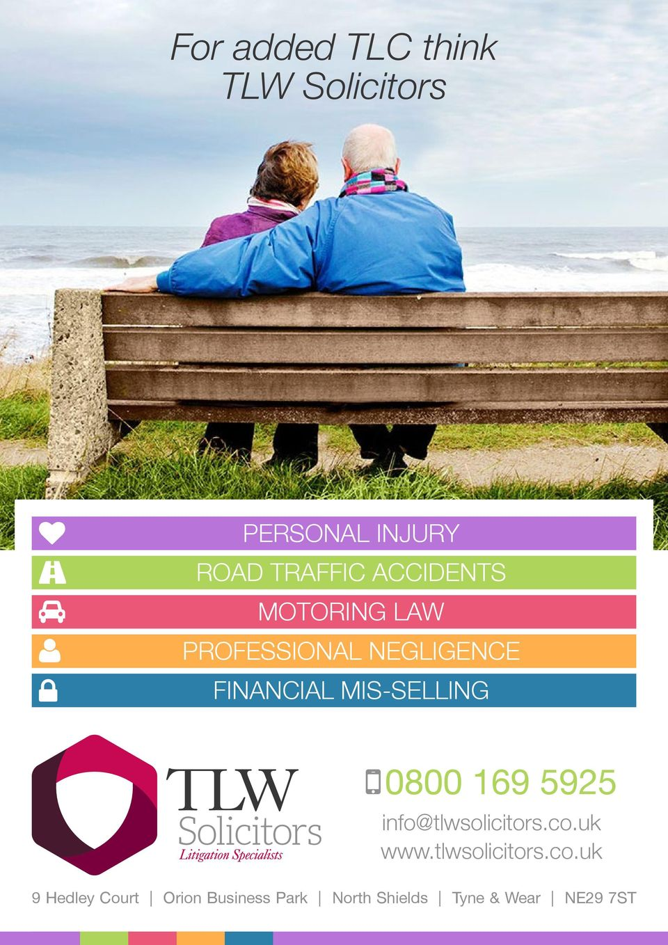 MIS-SELLING 0800 169 5925 info@tlwsolicitors.co.uk www.