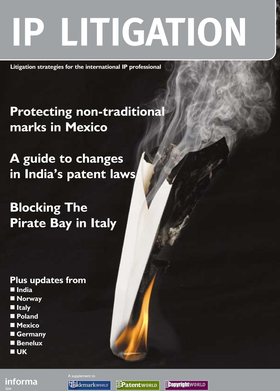 changes in India s patent laws Blocking The Pirate Bay in Italy Plus