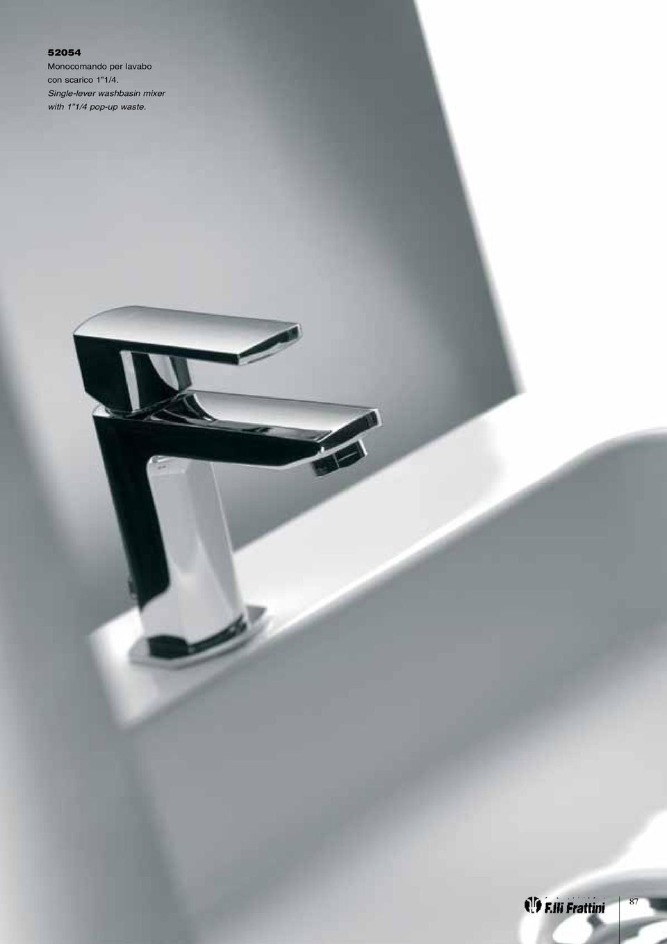 Single-lever washbasin