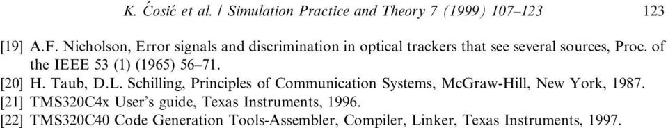 of the IEEE 53 (1) (1965) 56±71. [20] H. Taub, D.L.