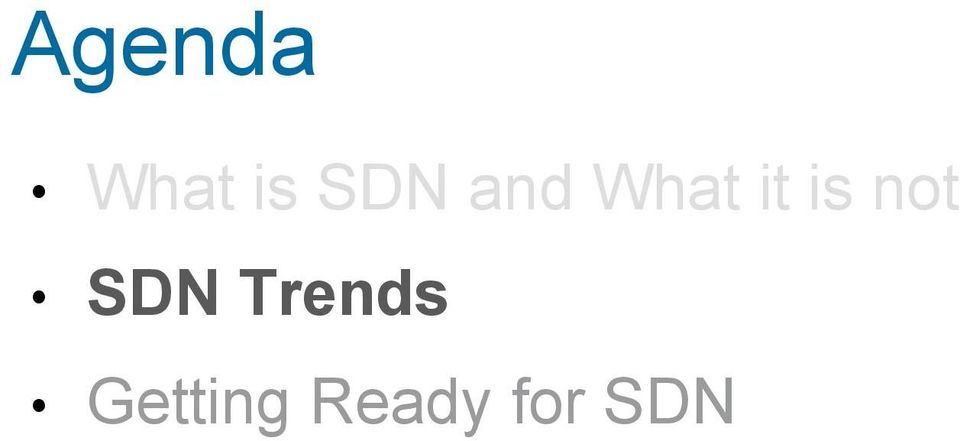 Trends Getting Ready