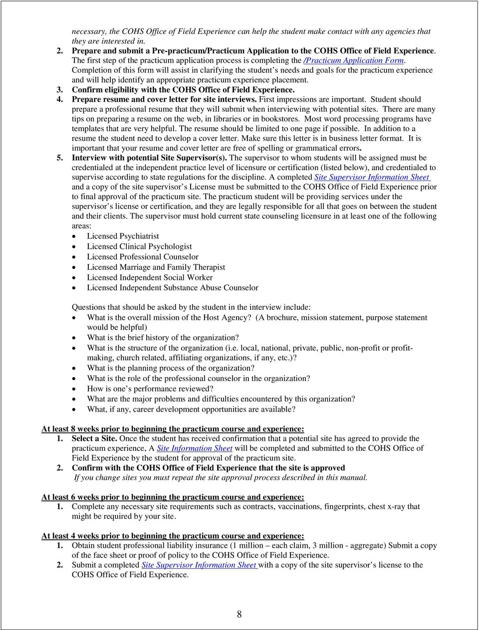 sample cover letter for practicum - grand canyon university bachelors in counseling practicum
