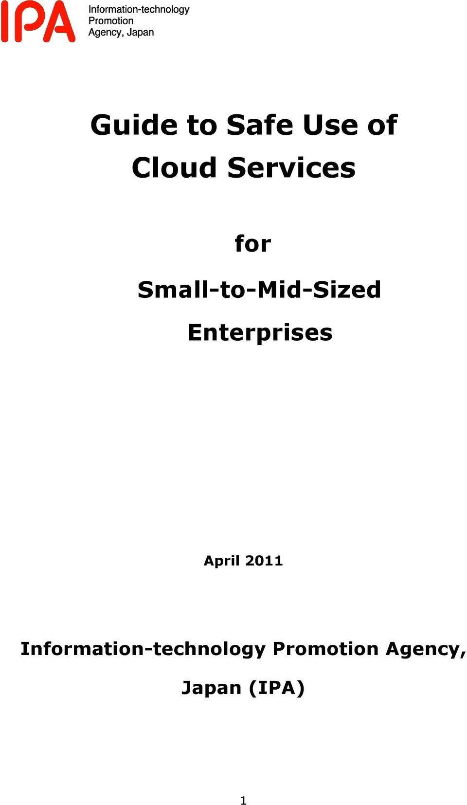 Enterprises April 2011