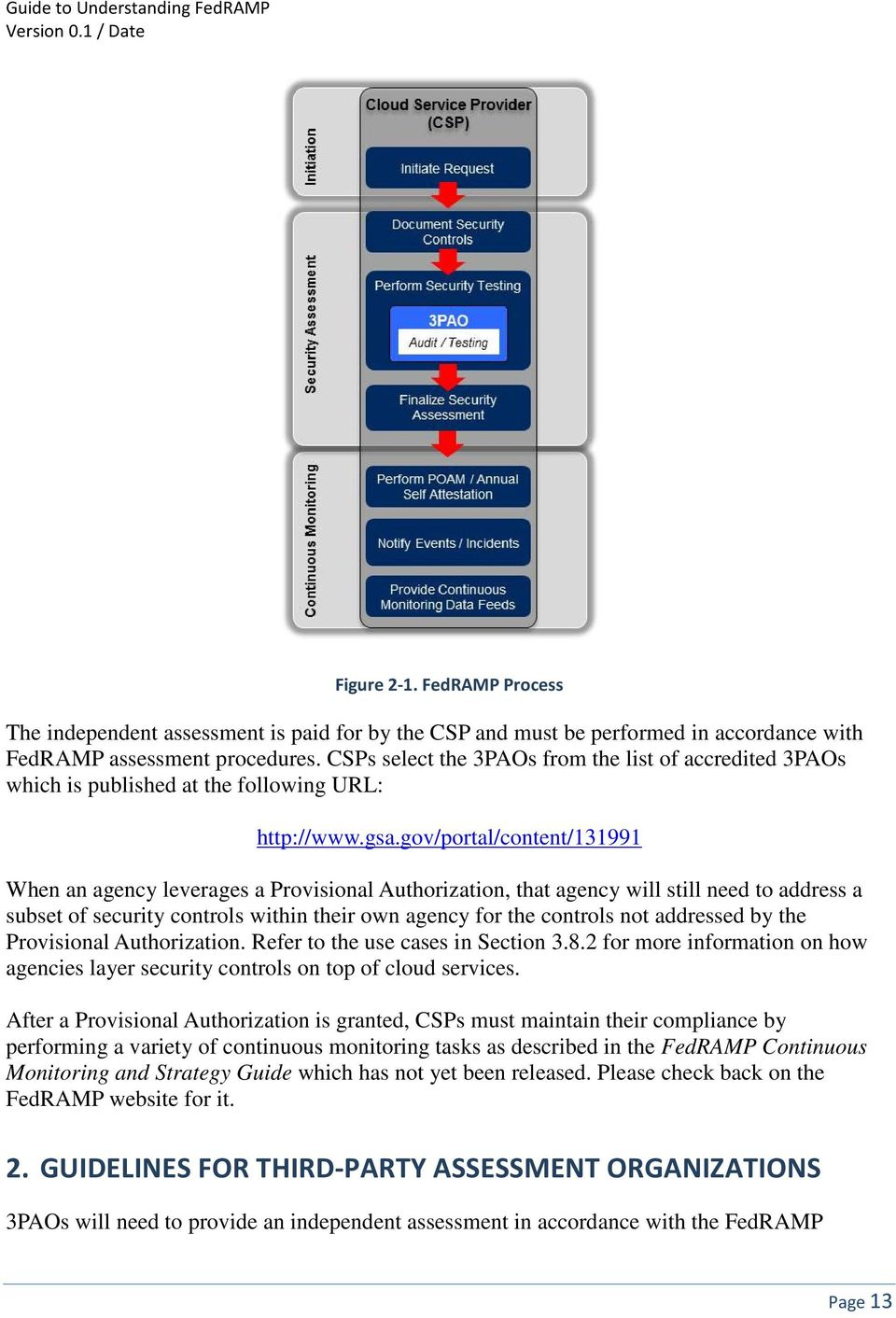 gov/portal/content/131991 When an agency leverages a Provisional Authorization, that agency will still need to address a subset of security controls within their own agency for the controls not