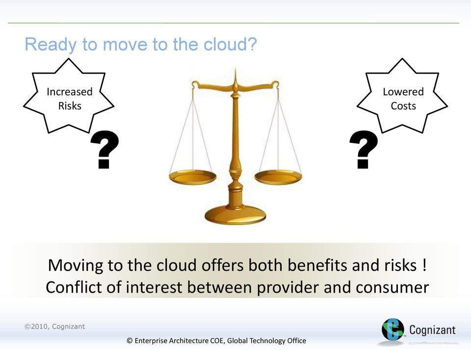 ? Moving to the cloud offers both