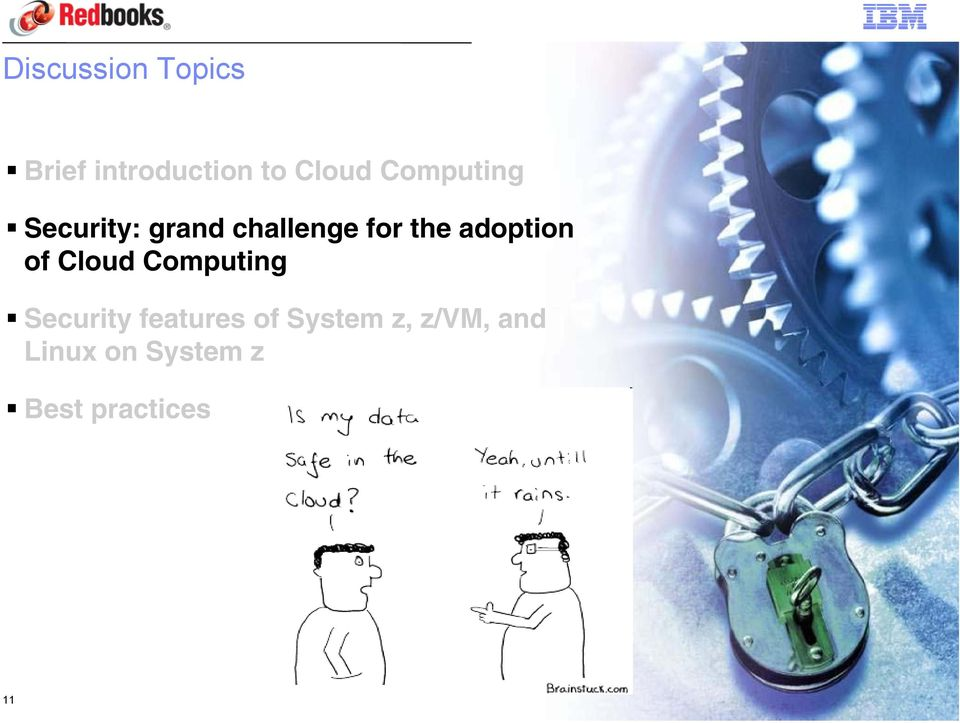 adoption of Cloud Computing Security features of