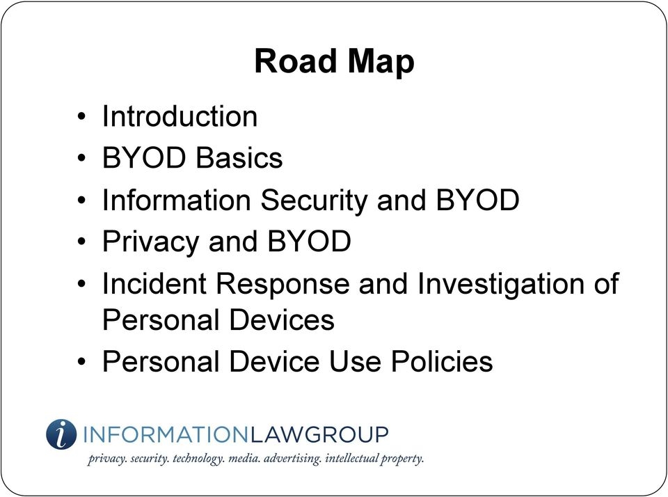 BYOD Incident Response and Investigation