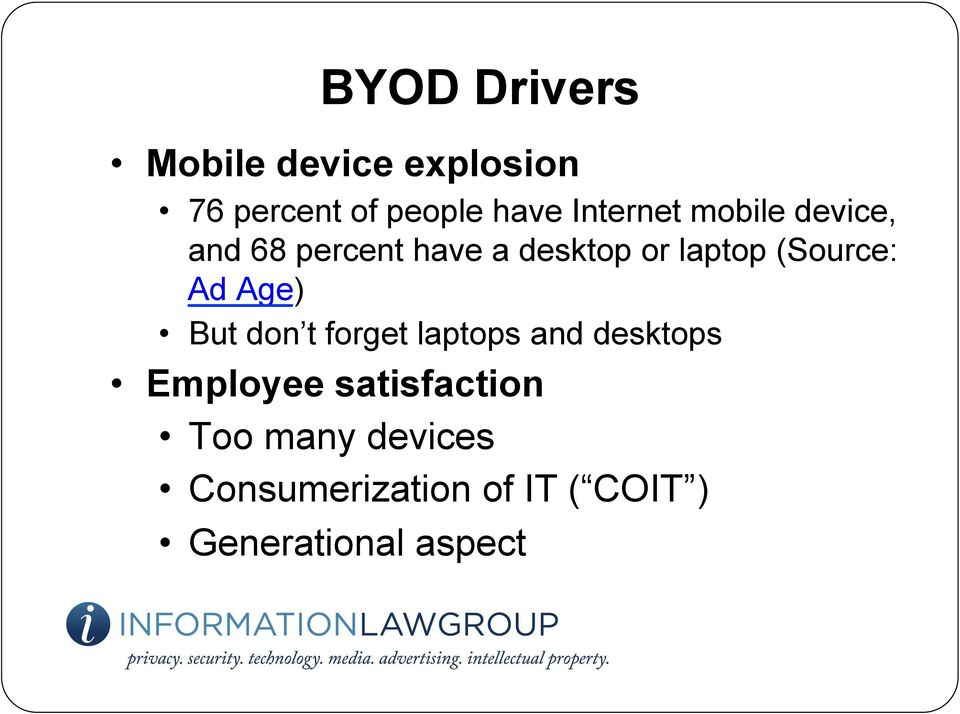 (Source: Ad Age) But don t forget laptops and desktops Employee