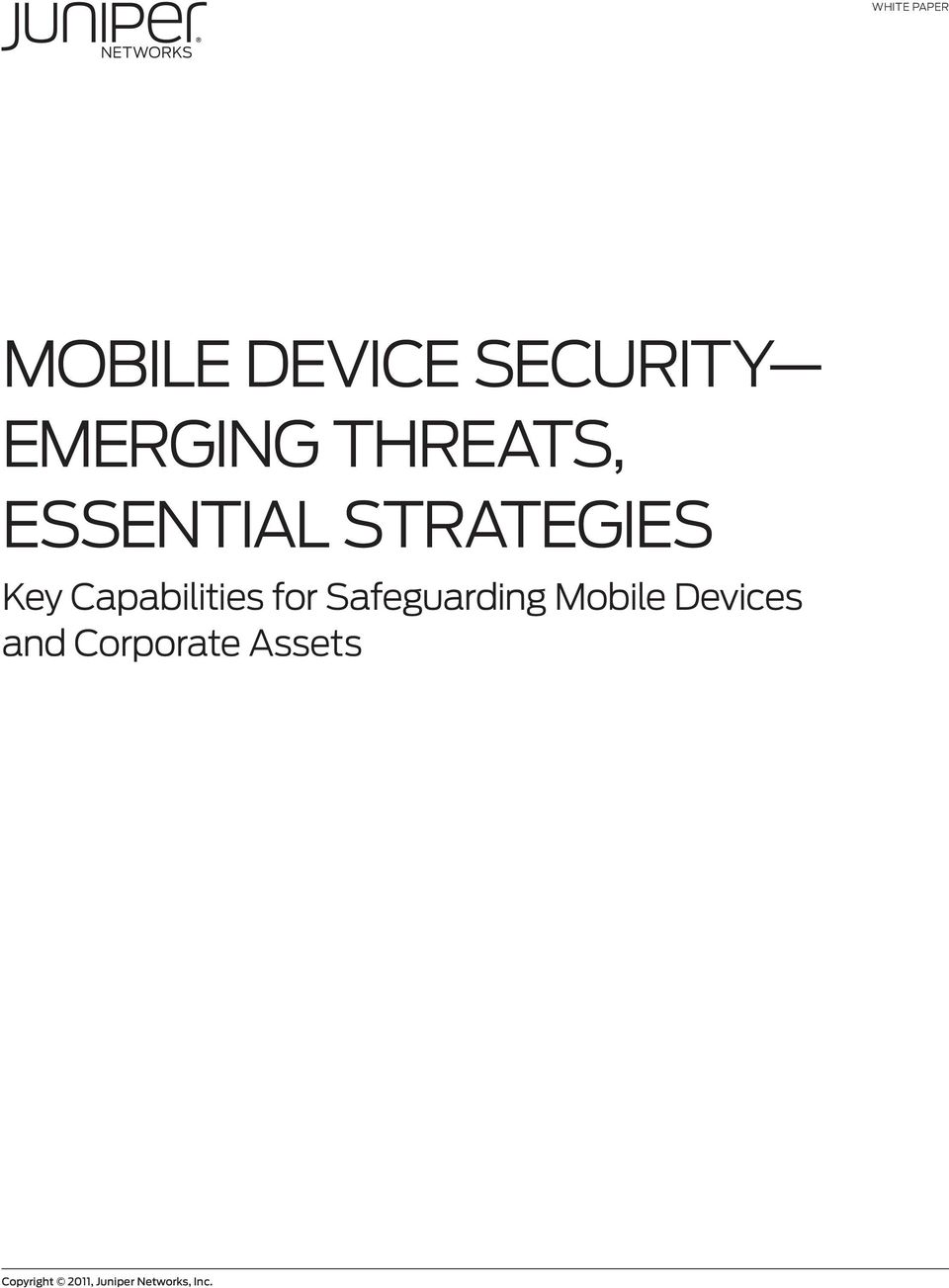 Capabilities for Safeguarding Mobile Devices