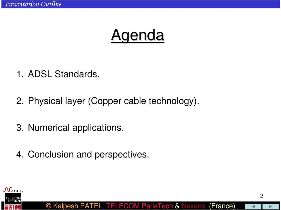 Physical layer (Copper cable
