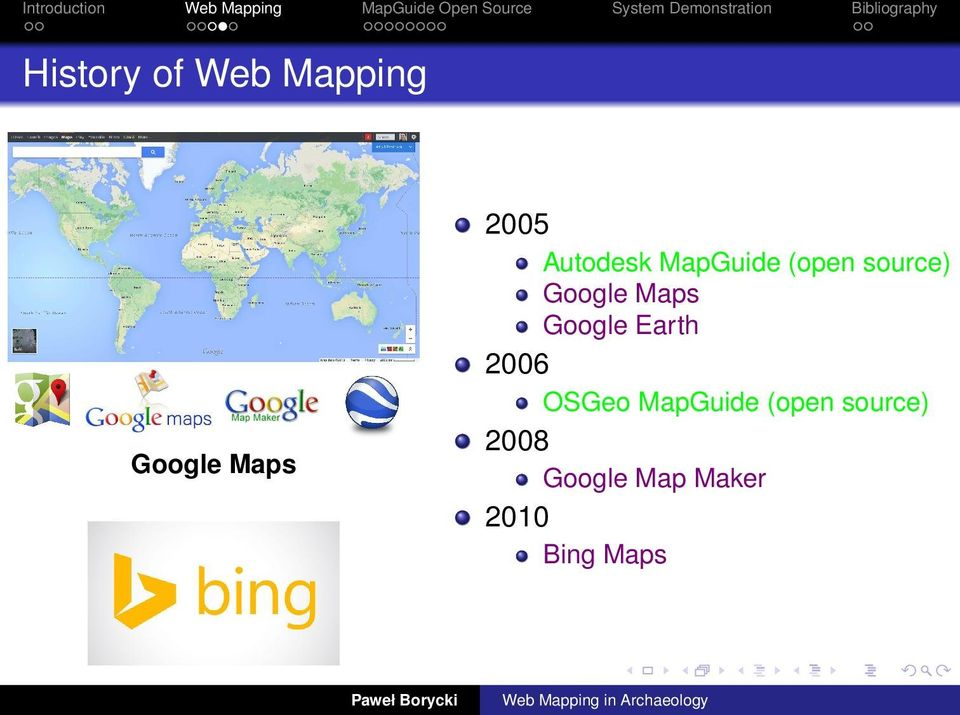 Maps Google Earth 2006 OSGeo MapGuide