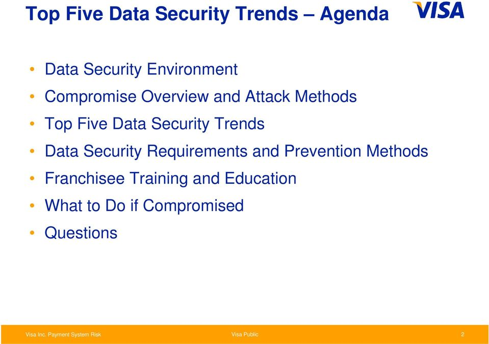 Trends Data Security Requirements and Prevention Methods