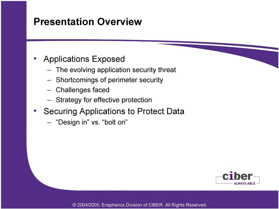 security Challenges faced Strategy for effective