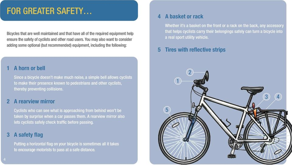 that helps cyclists carry their belongings safely can turn a bicycle into a real sport utility vehicle.