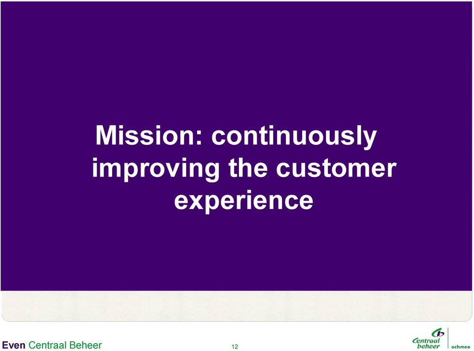 +6% improving the customer experience Acq PV +11% Hypo s