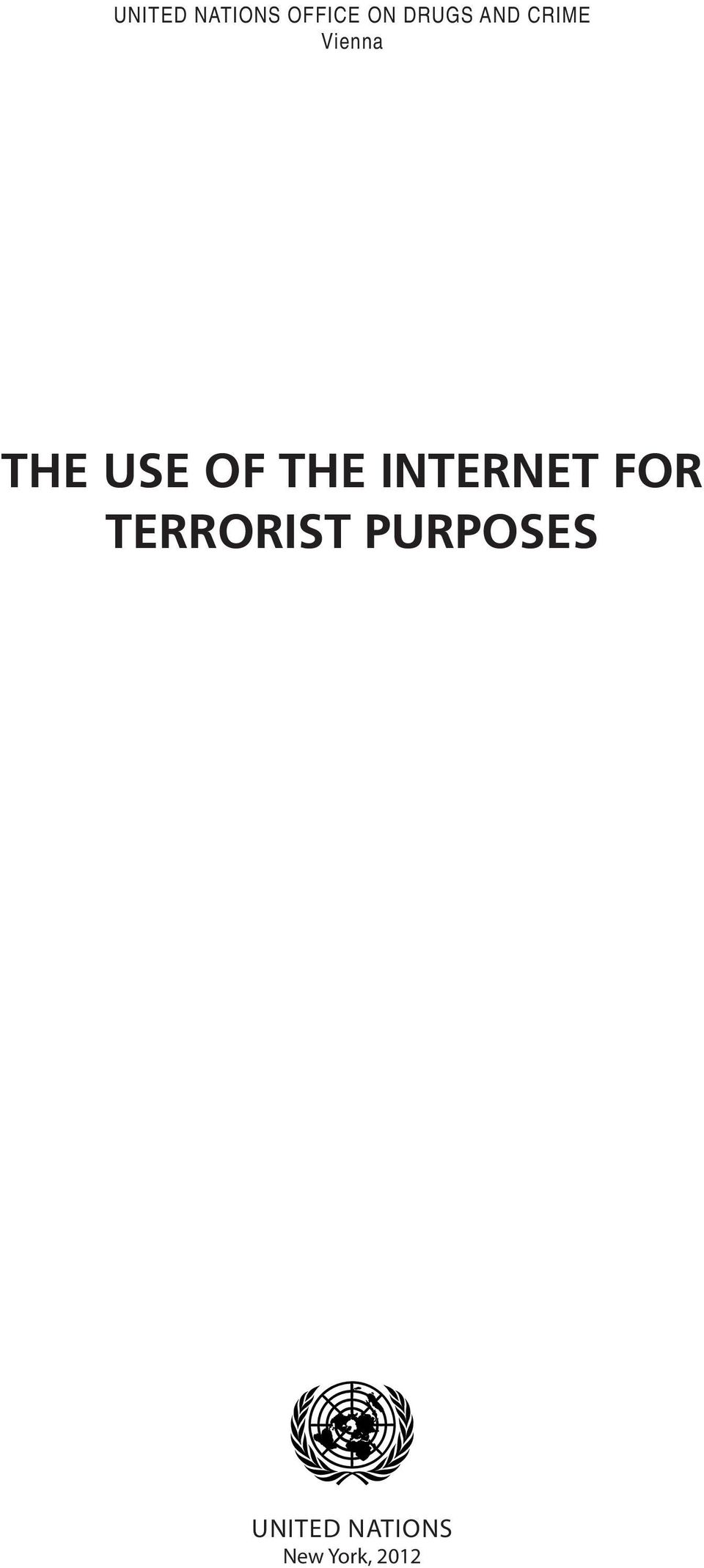 THE INTERNET FOR TERRORIST