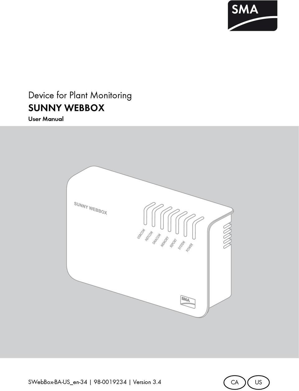 device for plant monitoring sunny webbox pdf rh docplayer net Samsung Web Box Samsung Web Box
