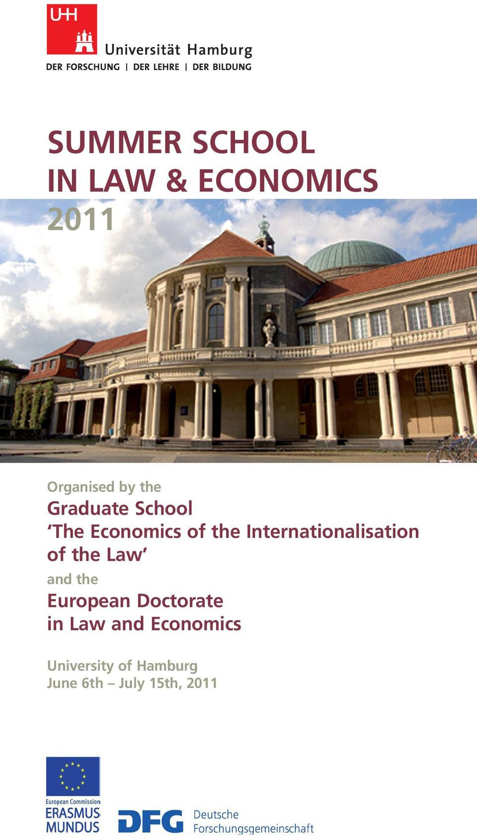 Internationalisation of the Law and the European