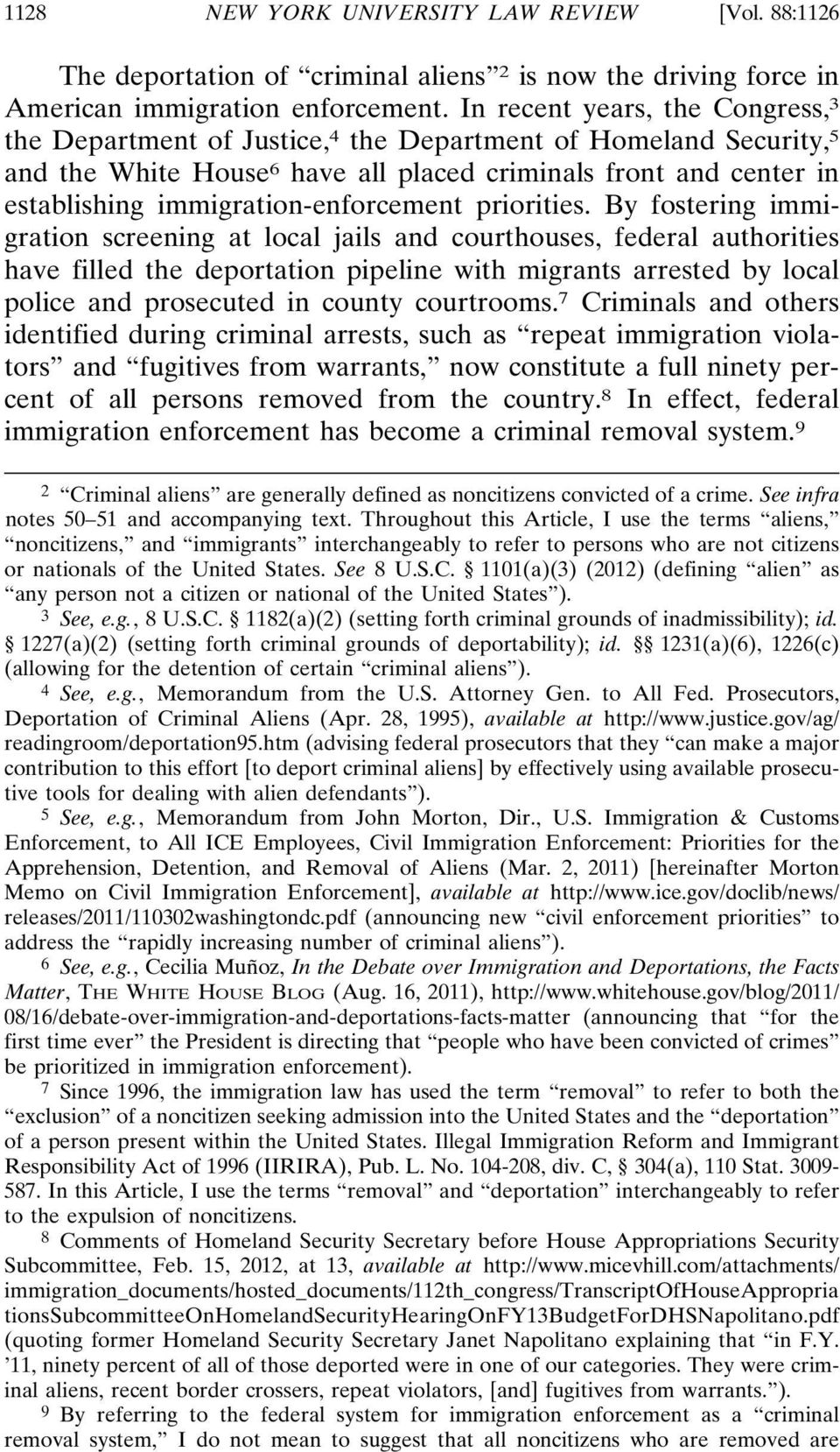 immigration-enforcement priorities.