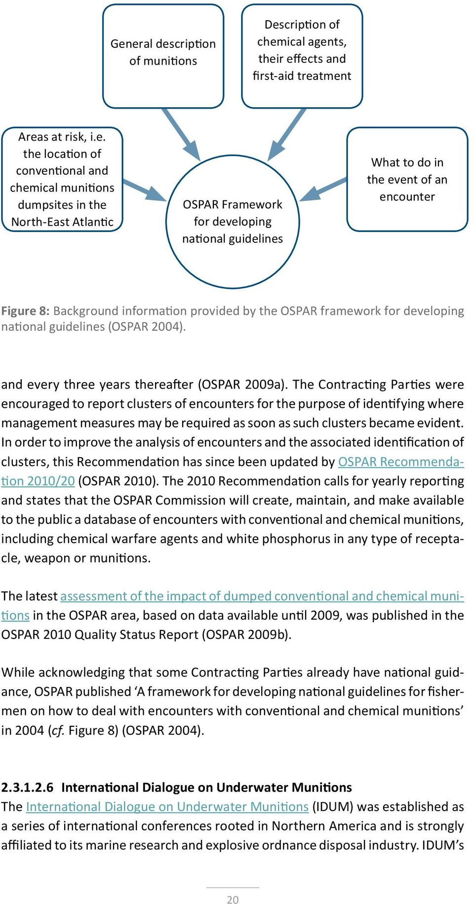 guidelines (OSPAR 2004). and every three years thereafter (OSPAR 2009a).