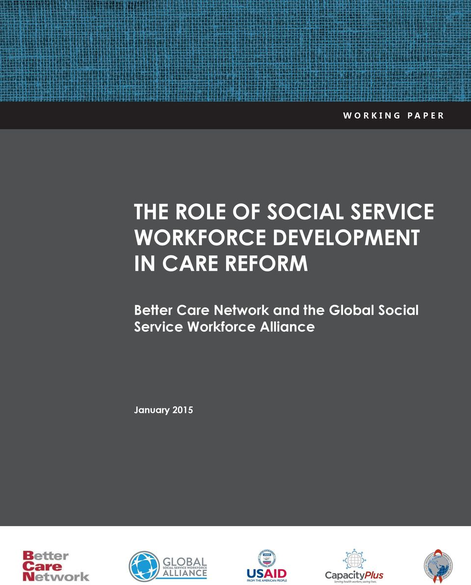 REFORM Better Care Network and the