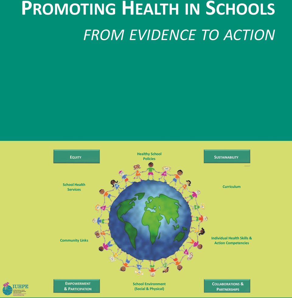 Community Links Individual Health Skills & Action Competencies