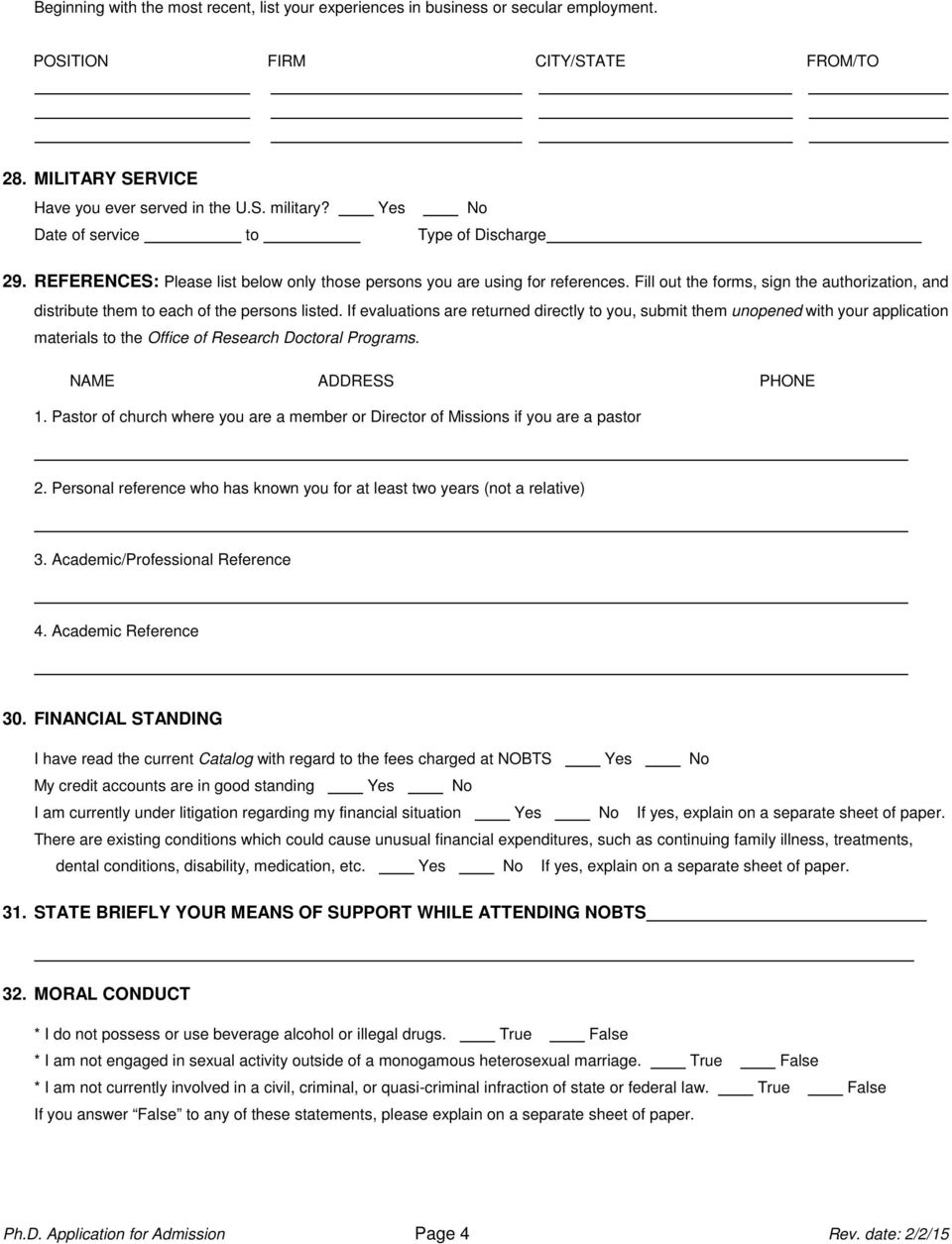 Fill out the forms, sign the authorization, and distribute them to each of the persons listed.