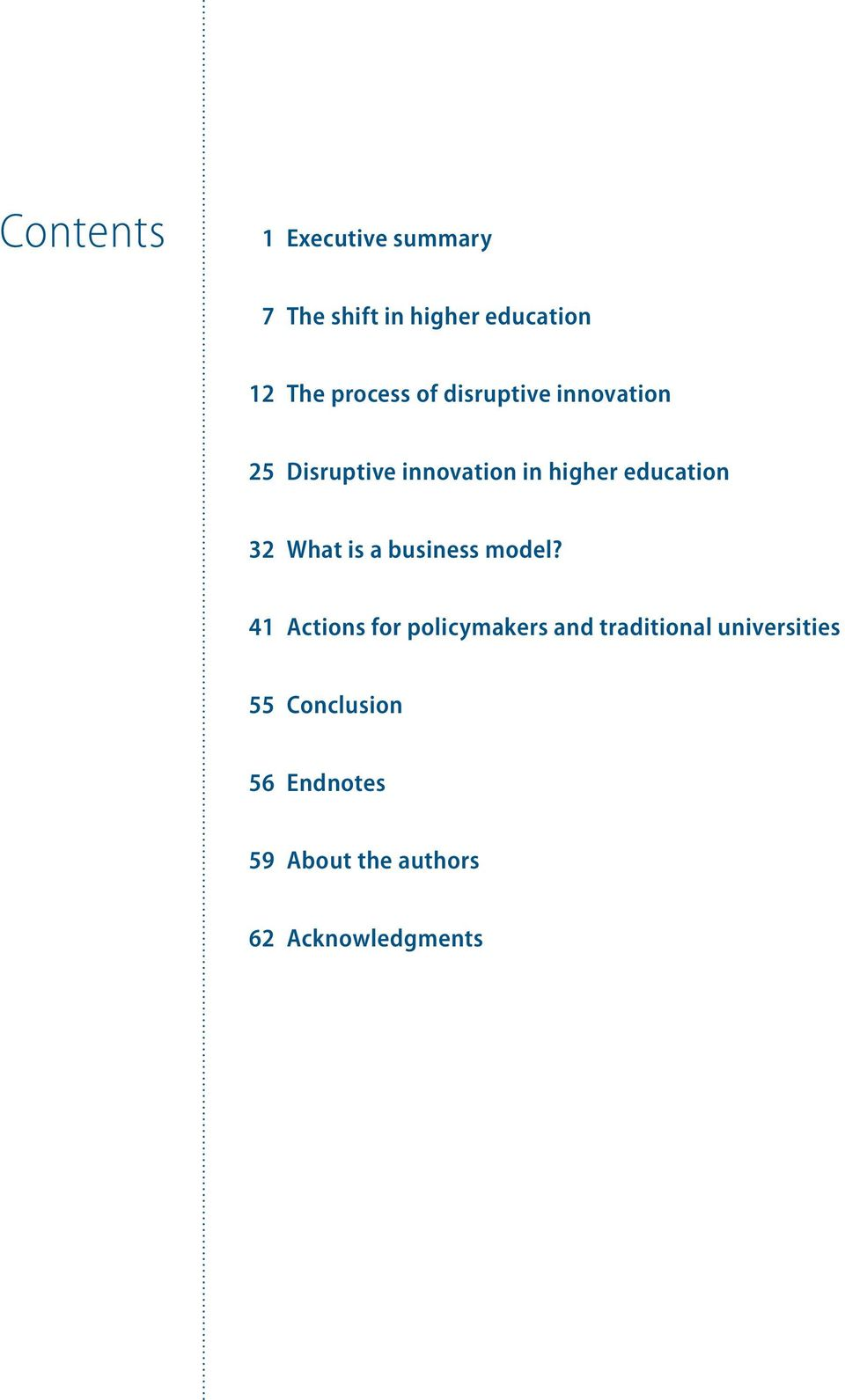 education 32 What is a business model?