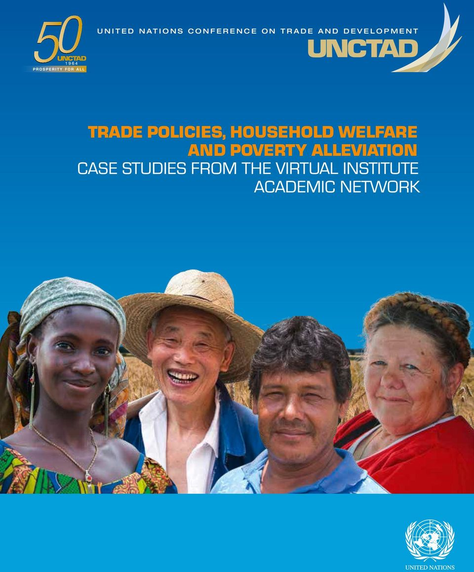 POLICIES, HOUSEHOLD WELFARE AND POVERTY ALLEVIATION