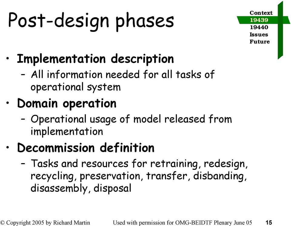 definition Tasks and resources for retraining, redesign, recycling, preservation, transfer,