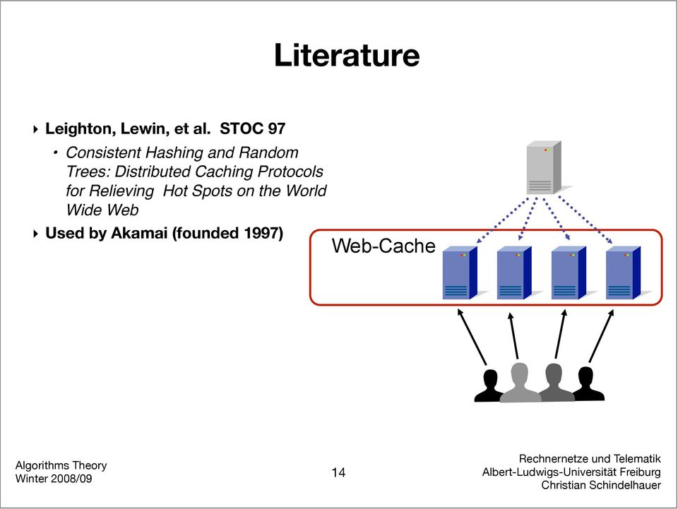 Distributed Caching Protocols for Relieving Hot