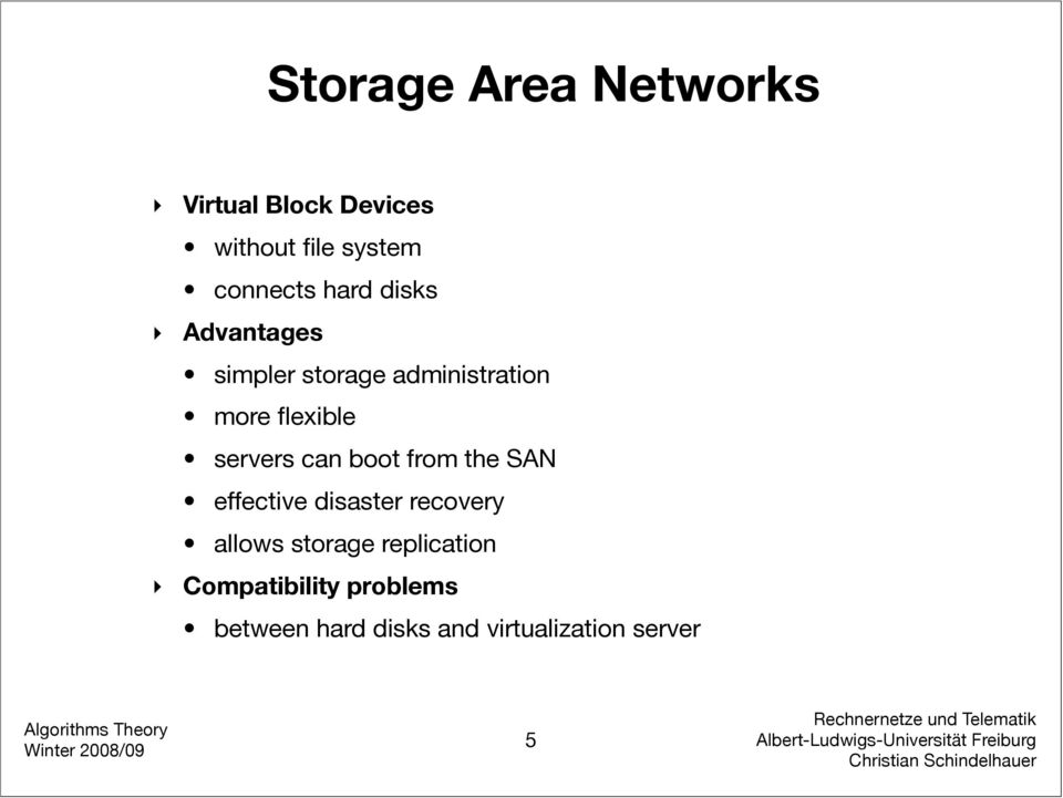servers can boot from the SAN effective disaster recovery allows storage