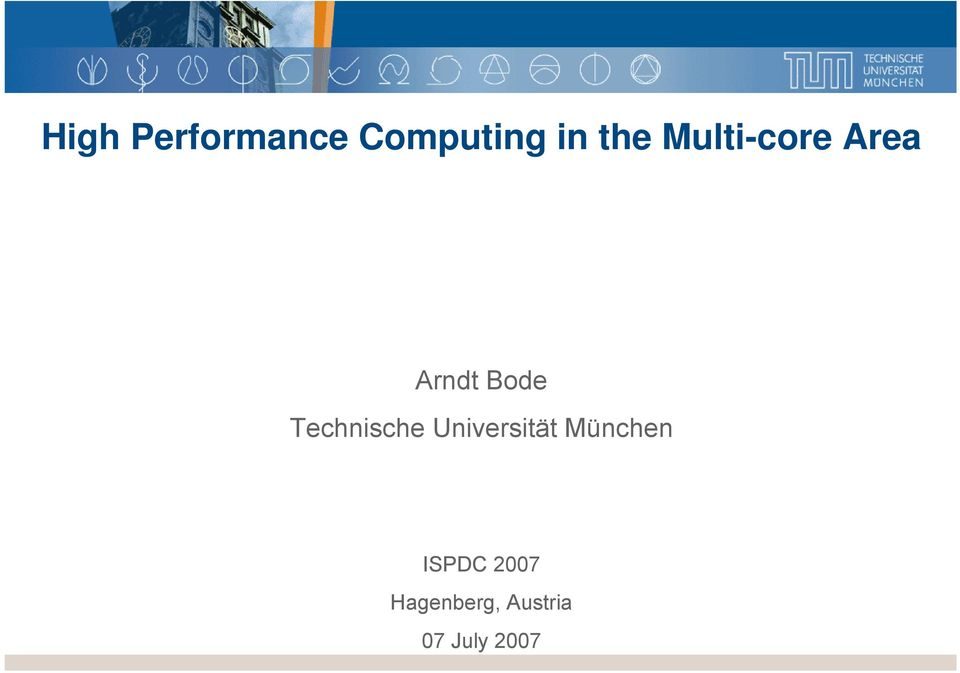 Multi-core Area Arndt