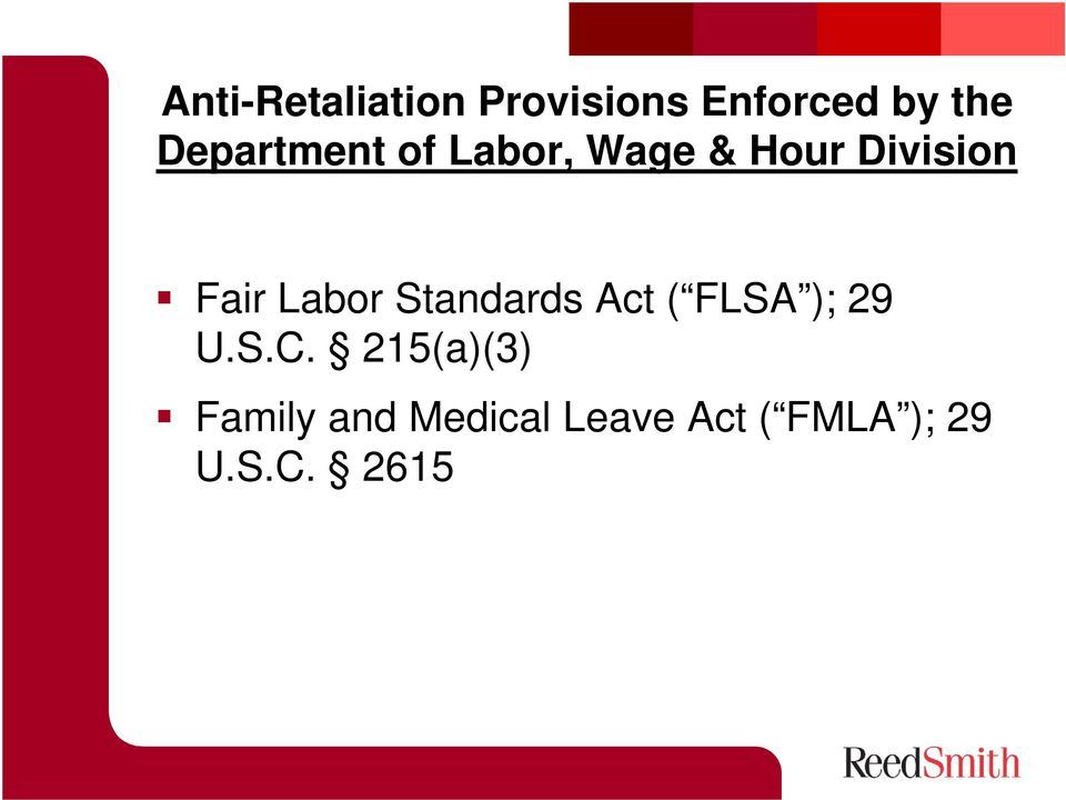Labor Standards Act ( FLSA ); 29 U.S.C.