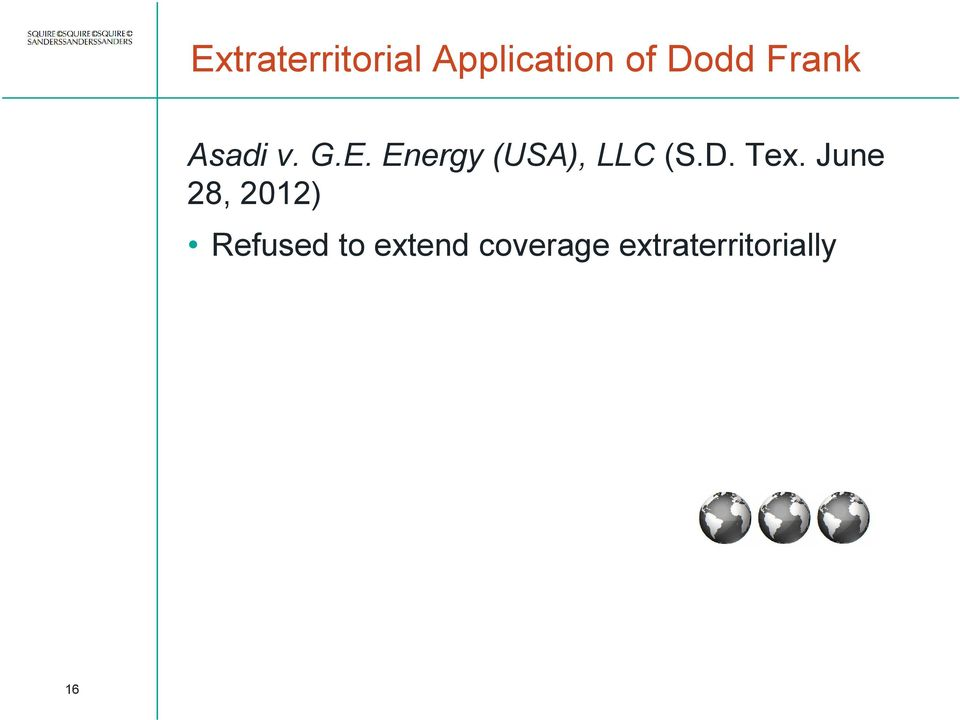 Energy (USA), LLC (S.D. Tex.